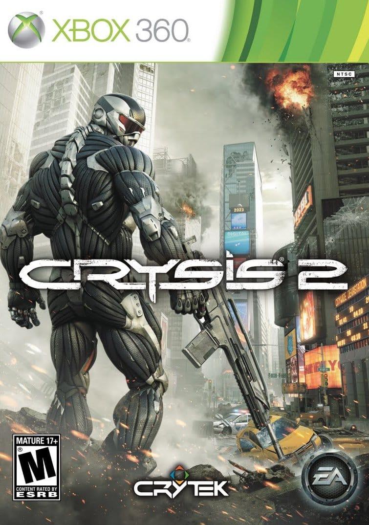Cover Caratula Crysis 2 XBOX 360