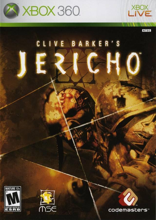 Cover Caratula Cliver Barker's Jericho XBOX 360