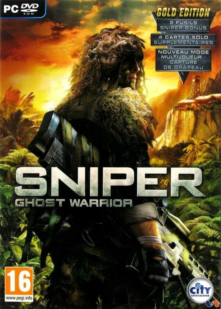 Cover Caratula Sniper Ghost Warrior Gold Edition PC
