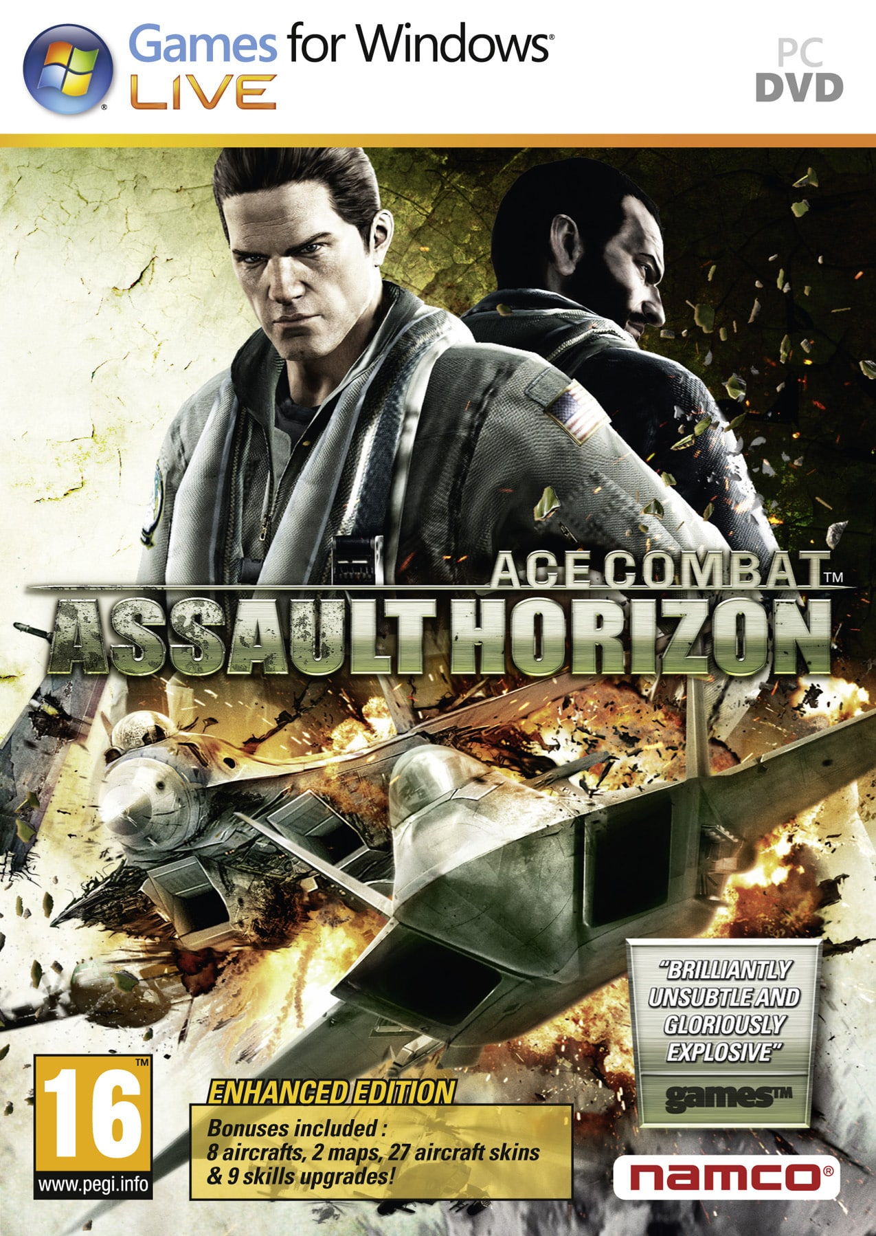 Cover Caratula Ace Combat Assault Horizon Enhanced Edition PC