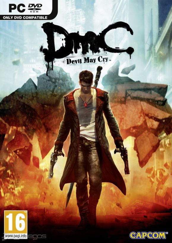 Cover Caratula DMC Devil May Cry 2013 PC