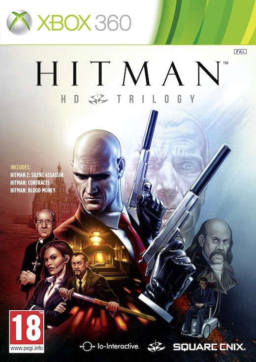 Cover Caratula Hitman HD Trilogy XBOX 360