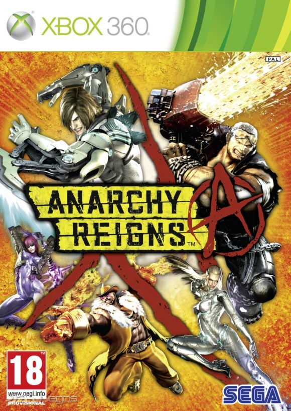 Cover Caratula Anarchy Reigns XBOX 360