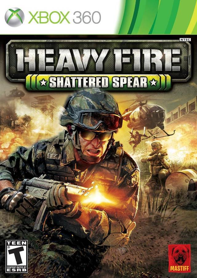 Cover Caratula Heavy Fire Shattered Spear XBOX 360