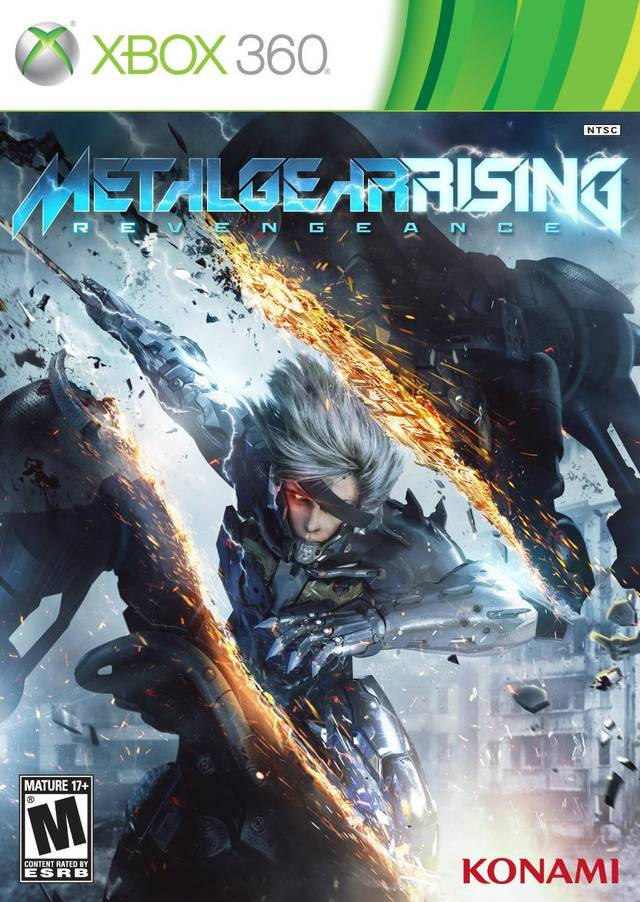 Cover Caratula Metal Gear Rising Revengeance XBOX 360