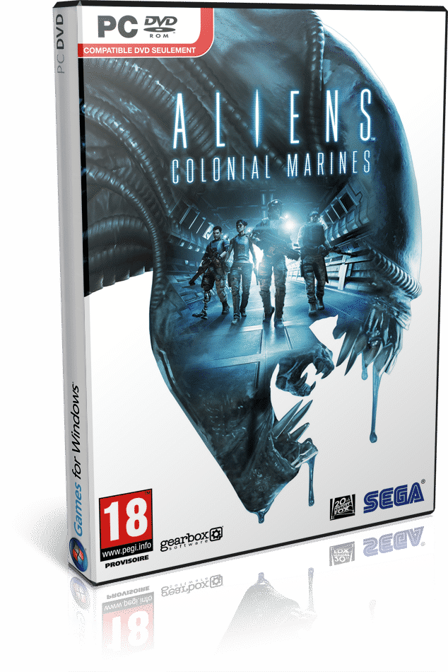 Cover Caratula Aliens Colonial Marines PC