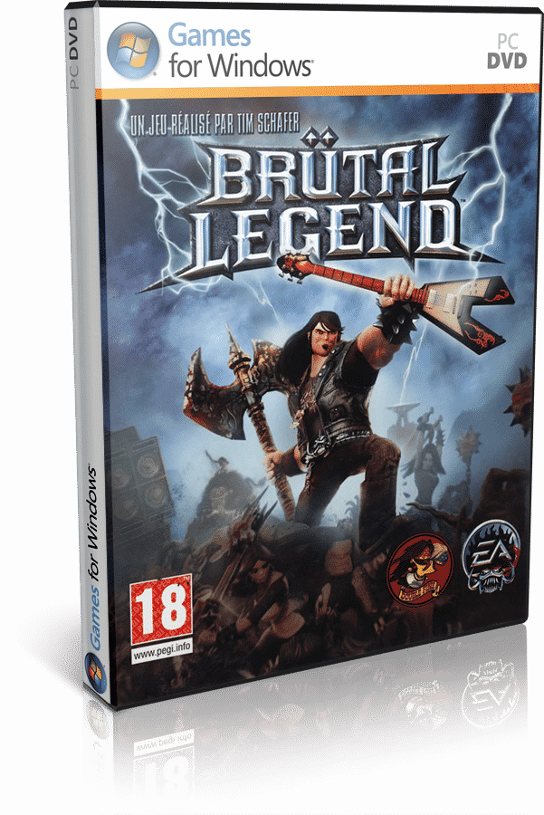 Cover Caratula Brutal Legend PC