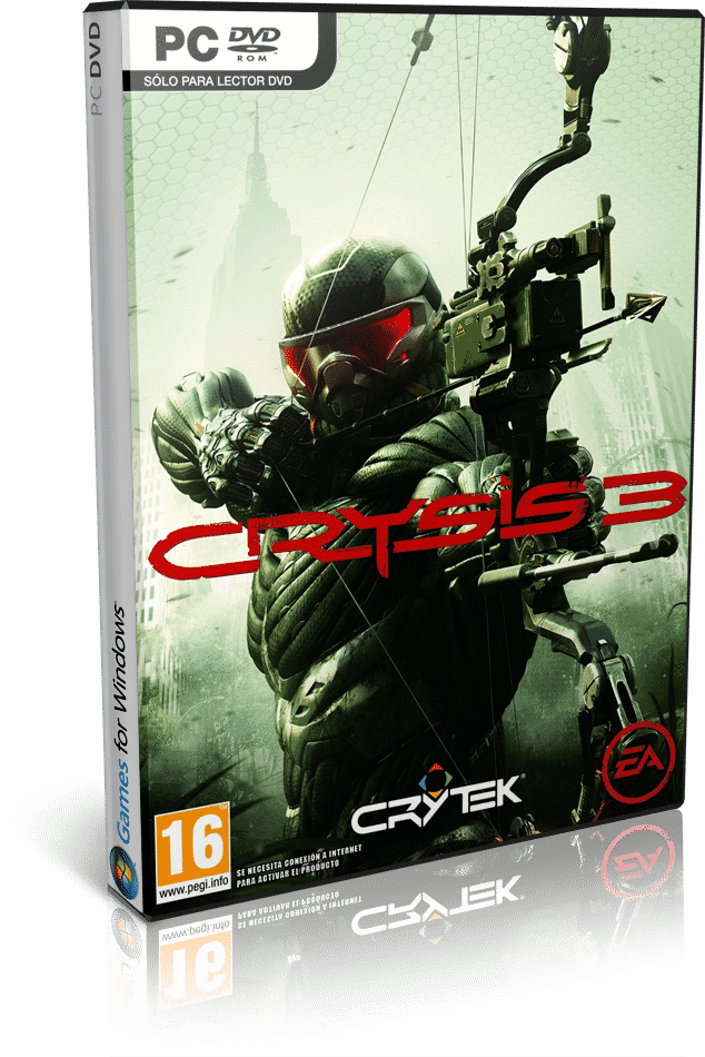 Cover Caratula Crysis 3 PC