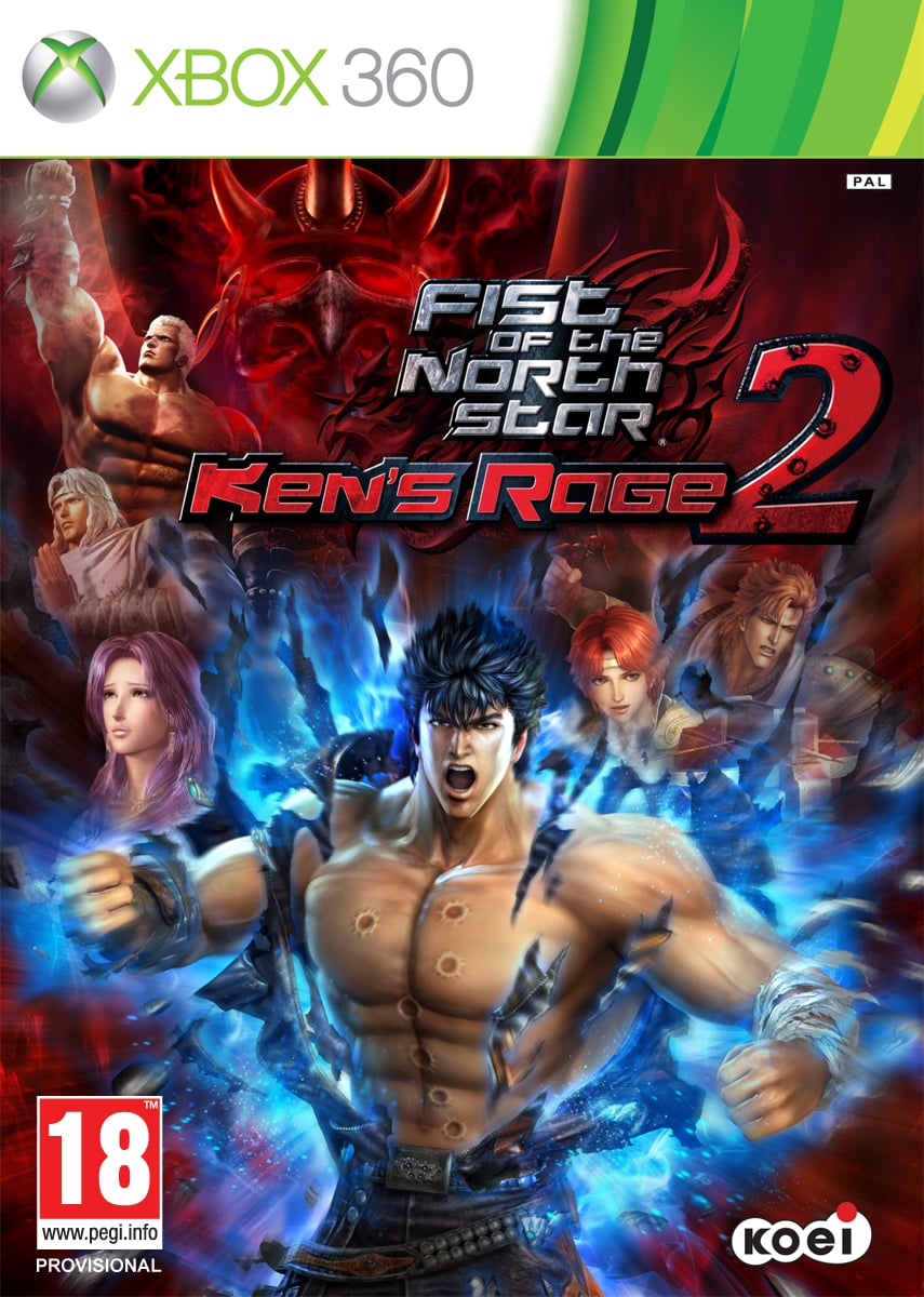 Cover Caratula Fist of the North Star: Ken's Rage 2 XBOX 360