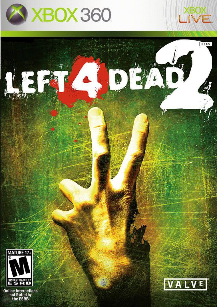 Cover Caratula Left 4 Dead 2 XBOX 360