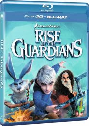 Cover Caratula Rise Of The Guardians Bluray