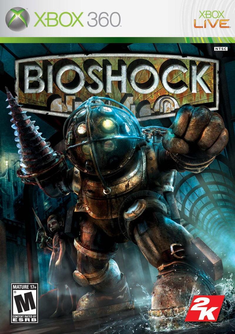 Cover Caratula Bioshock XBOX 360