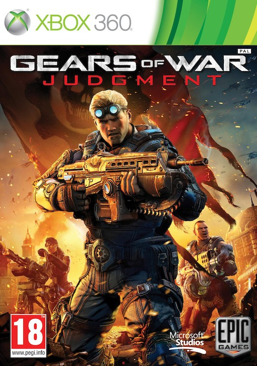 Cover Caratula Gears Of War Judgment XBOX 360