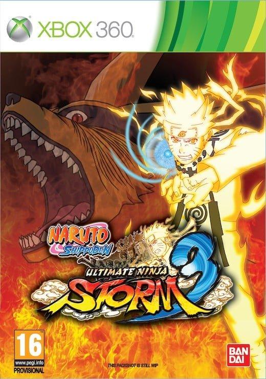 Cover Caratula Naruto Ultimate Ninja Storm 3 XBOX 360