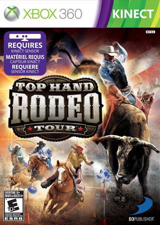 Cover Caratula Top Hand Rodeo XBOX 360