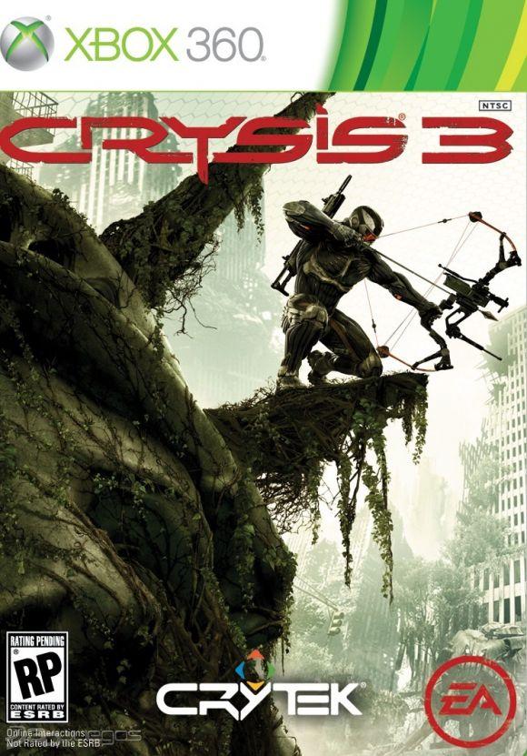 Cover Caratula Crysis 3 XBOX 360