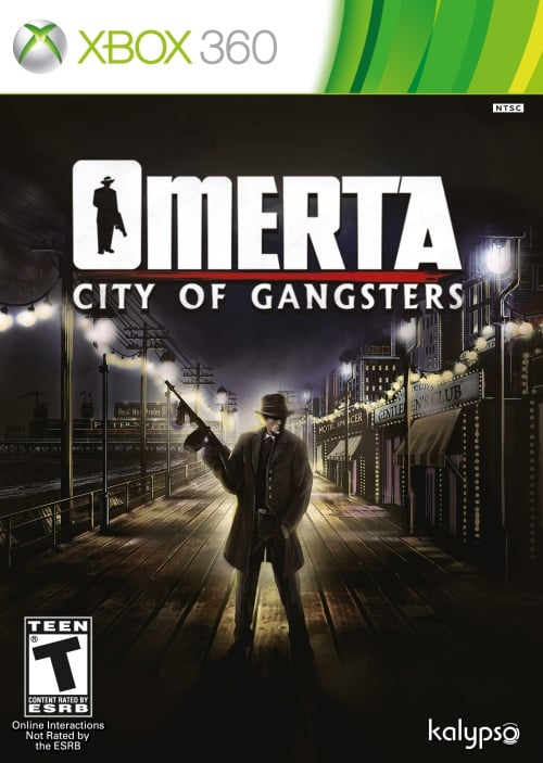 Cover Caratula Omerta City Of Gangsters XBOX 360
