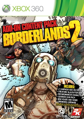 Borderlands 2 Addon Content Pack (Region FREE) XBOX 360 ESPAÑOL Descargar