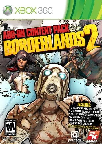 Cover Caratula Borderlands 2 Addon Content Pack XBOX 360