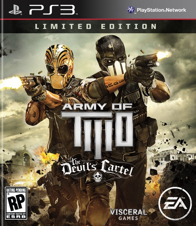Army Of Two The Devil's Cartel (FIX 3.41-3.55) PS3 ESPA...