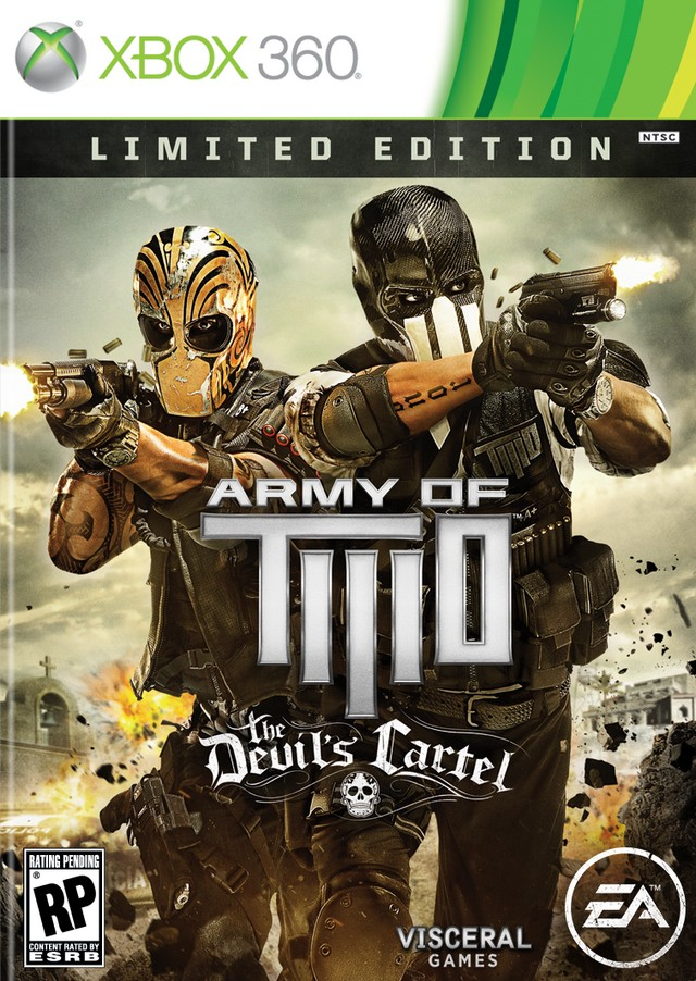 Cover Caratula Army Of Two The Devil's Cartel XBOX 360