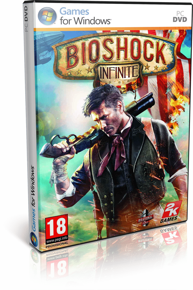 Cover Caratula BioShock Infinite PC
