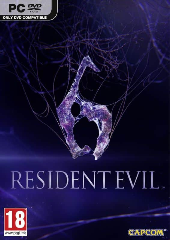 Cover Caratula Resident Evil 6 PC