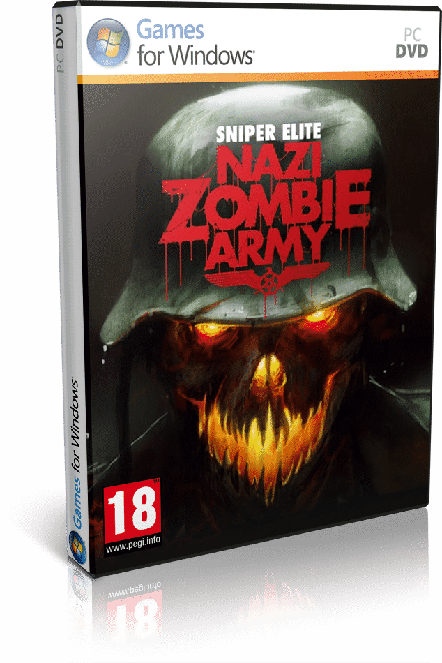 Cover Caratula Sniper Elite Nazi Zombie Army PC