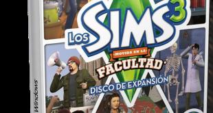 Cover Caratula Los Sims 3 Movida En La Facultad PC