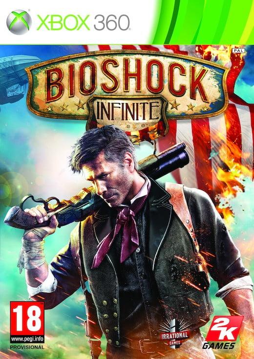 Cover Caratula Bioshock Infinite XBOX 360