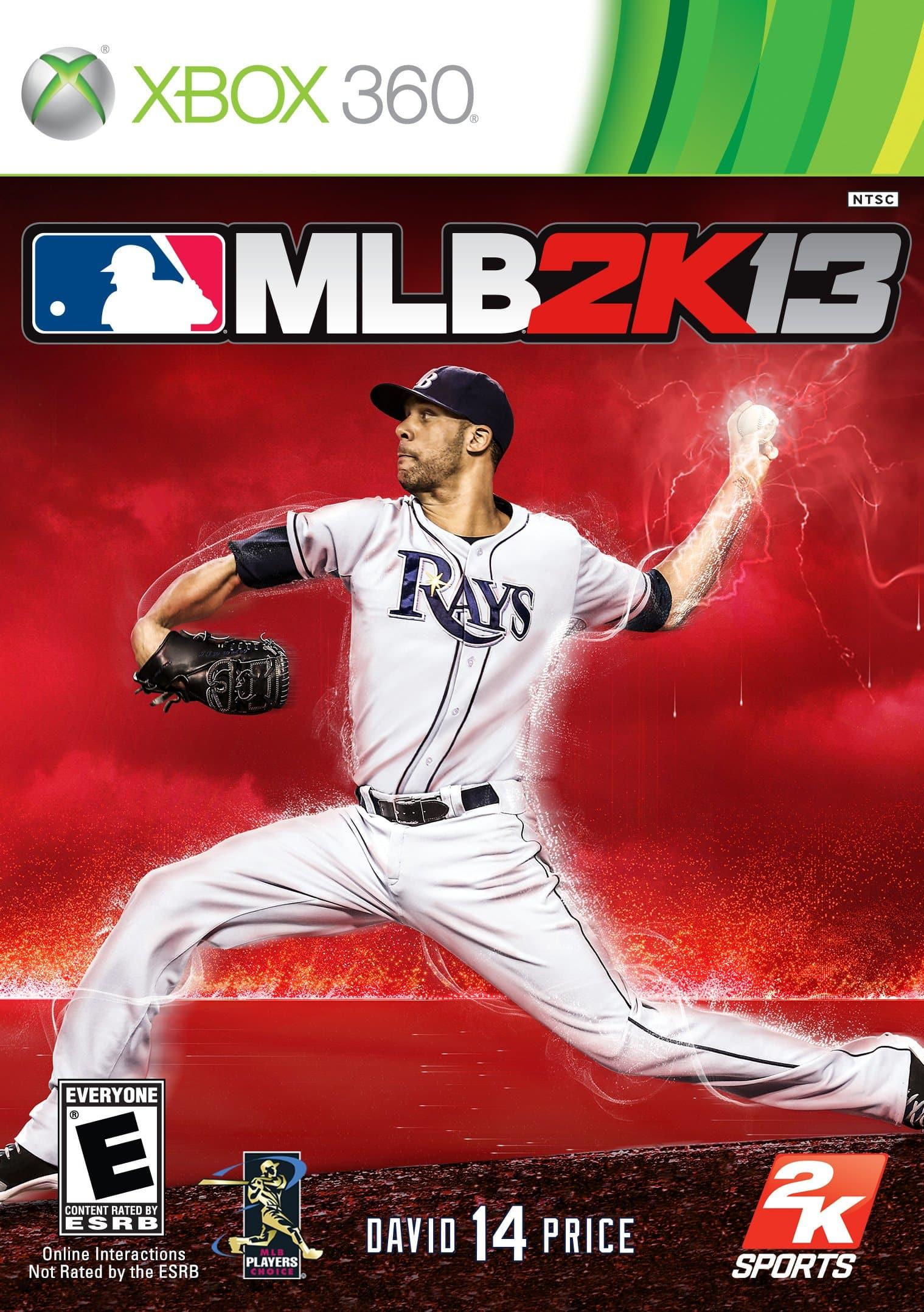 Cover Caratula MLB 2K13 XBOX 360