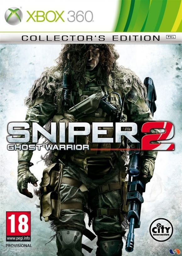 Sniper Ghost Warrior 2 (Region FREE) XBOX 360 ESPAÑOL D...