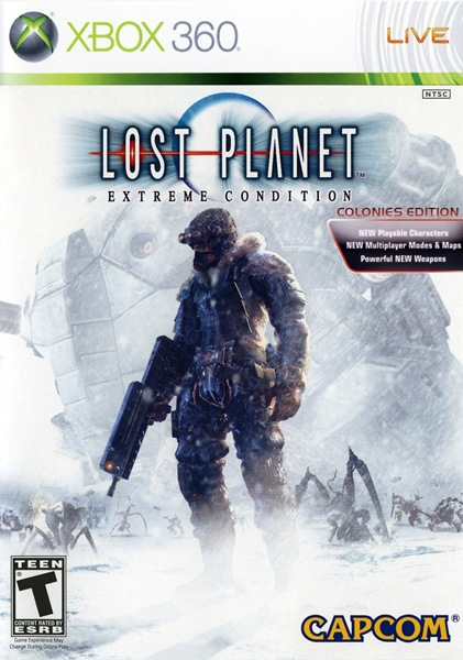 Cover Caratula Lost Planet Extreme Condition Colonies Edition XBOX 360