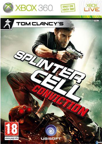 Cover Caratula Splinter Cell Conviction XBOX 360