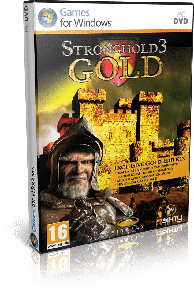 Stronghold 3 Gold Edition (PROPHET) PC ESPAÑO...
