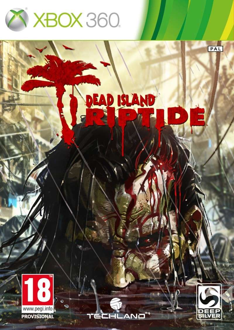 Cover Caratula Dead Island Riptide XBOX 360