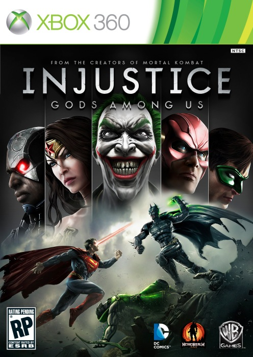 Cover Caratula Injustice: Gods Among Us XBOX 360