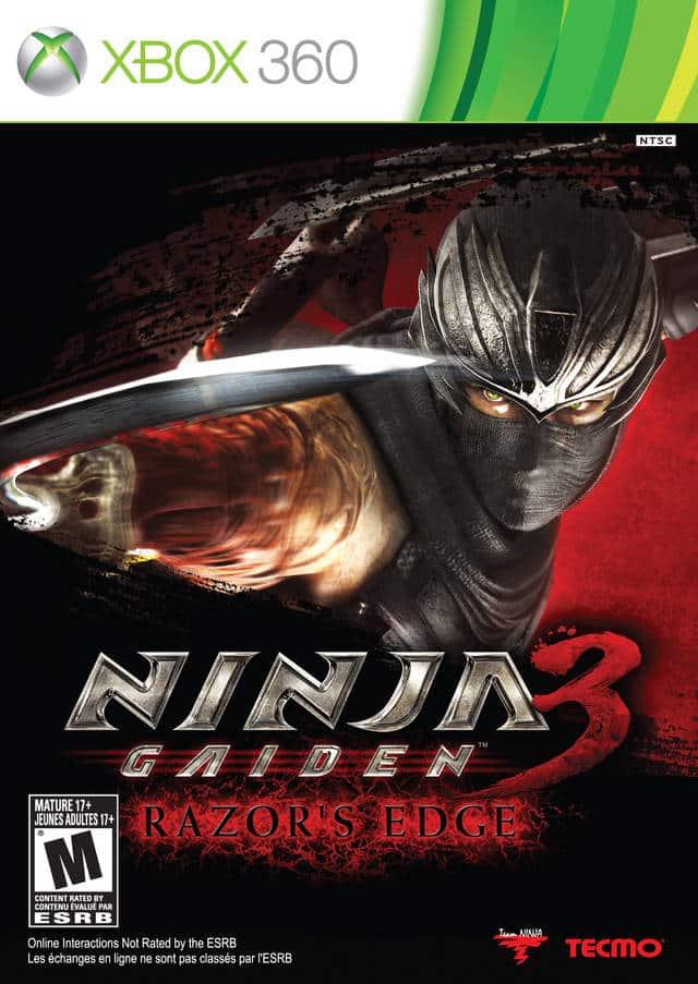 Cover Caratula Ninja Gaiden 3 Razor's Edge XBOX 360