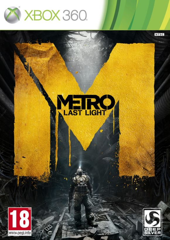 Cover Caratula Metro Last Light XBOX 360