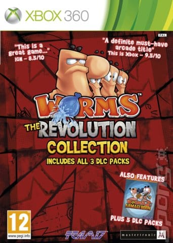Worms Revolution Collection (Region PAL) XBOX 360 Desca...