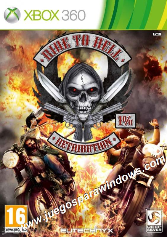 Ride To Hell Retribution XBOX 360 ESPAÑOL Descargar (Re...