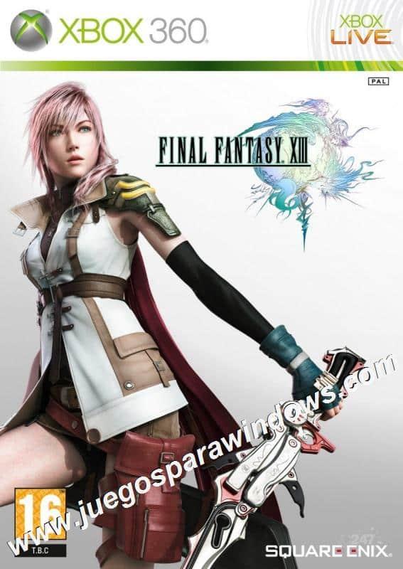 Final Fantasy XIII XBOX 360 ESPAÑOL Descargar