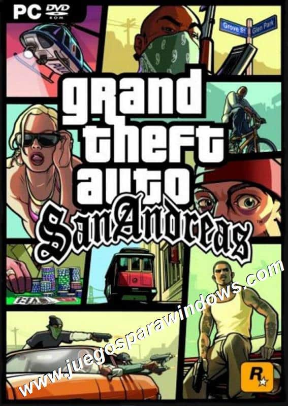 Grand Theft Auto San Andreas PC Descargar Full ESPAÑOL ...