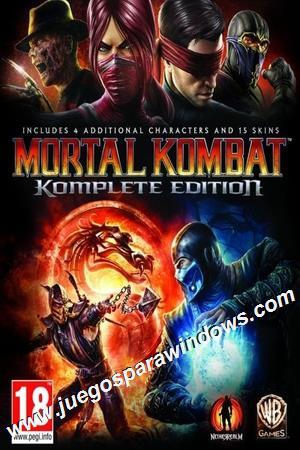 Mortal Kombat Komplete Edition PC ESPAÑOL Descargar Ful...