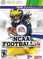 NCAA Football 14 XBOX 360 Descargar (Region NTSC) INGLES XGD2