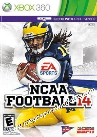 NCAA Football 14 XBOX 360 Descargar (Region NTSC) INGLE...