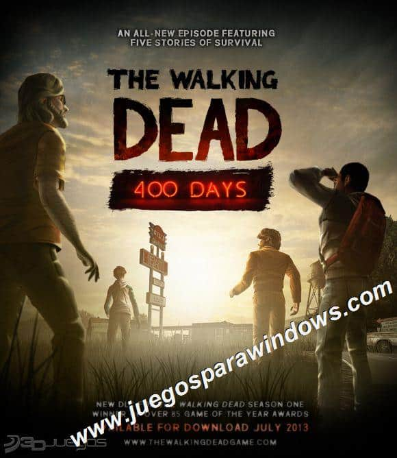 The Walking Dead 400 Days PC Descargar Full