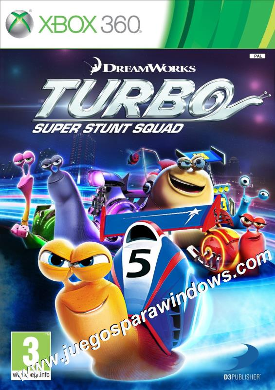 Turbo Super Stunt Squad ESPAÑOL XBOX 360 Descargar