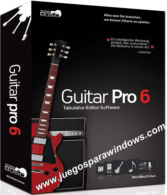 Guitar Pro 6.1.5 PC ESPAÑOL Descargar Full Cr...