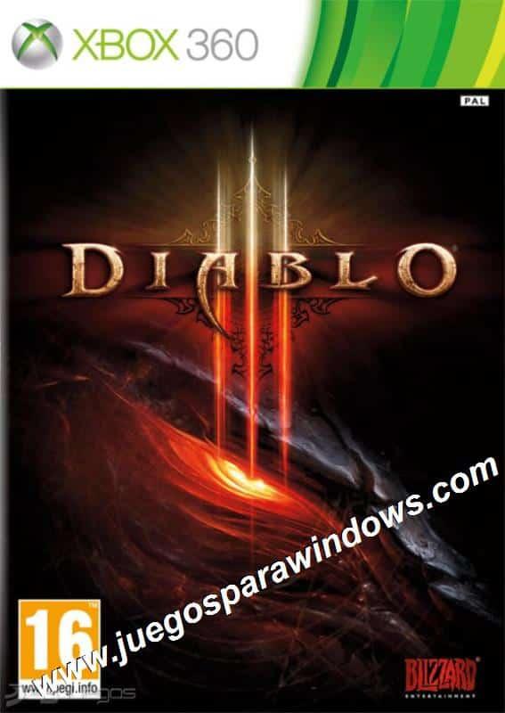 Diablo III XBOX 360 ESPAÑOL LATINO Descargar (Region FR...